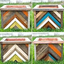 pallet planter box plans pallet wooden planter boxes pallet