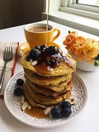 Blueberry Pancake Recipe Brain Power Egg U0026 Blueberry Pancakes Recipe By Eggland U0027s Best
