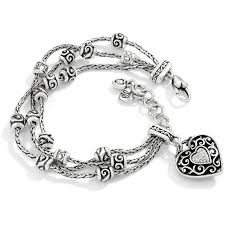 bracelet with heart charms images Reno heart reno heart bracelet bracelets jpg