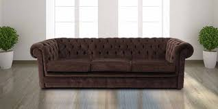 Chocolate Brown Chesterfield Sofa UK DesignerSofasU - Chesterfield sofa uk
