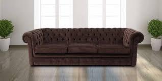 Chocolate Brown Chesterfield Sofa UK DesignerSofasU - Chesterfield sofa uk