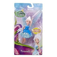 amazon com disney fairies 4 5 u0027 periwinkle basic fairies doll