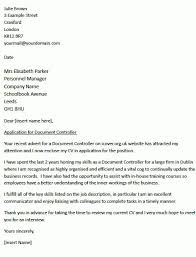 cover letter controller finance controller cover letter example
