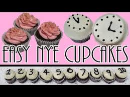 Quick And Easy New Years Decorations by Quick And Easy New Years Eve Cupcakes Cupcakegirl Youtube