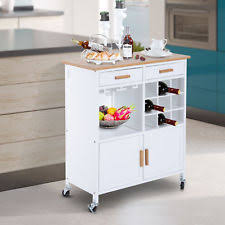 kitchen island trolley wooden kitchen islands carts with drawers ebay