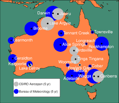 meteorology bureau australia figure 1 location of sun photometer stations in australia bureau