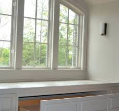 Window Storage Bench Seat Plans by Built In Storage Bench Plans Benches Kitchen Table Storage Bench