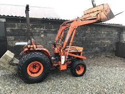 kubota b8200 compact tractor power loader 4x4 no vat in