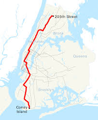 Mta Queens Bus Map U Bahn Linie D New York City U2013 Wikipedia