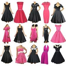 pink and black pin up dresses polyvore