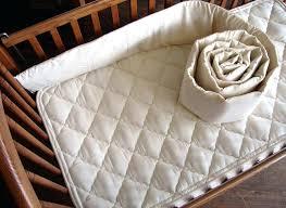 waterproof crib mattress pad stylish organic mattress protector