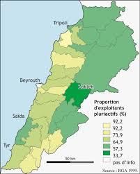 Map Of Lebanon Lebanon Country Pasture Forage Resource Profile