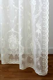 elegant lace panels cotton nottingham style from scotland rebecca