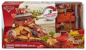 Disney Cars Bathroom Set Target by Amazon Com Disney Pixar Cars Escape From Frank Track Set Toys