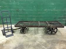 Industrial Cart Coffee Table Factory Cart Coffee Table Ebay