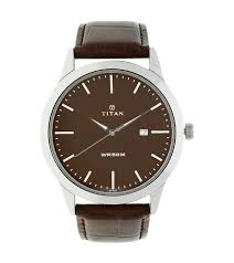 titan white dial analog watch for men 1584sl04 othoba com