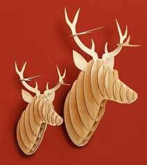 Christmas Reindeer Head Wall Decoration by 78 Best Stag Head Decor Images On Pinterest Antlers Animal