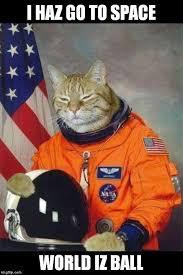 Astronaut Meme - astronaut kitty meme generator imgflip