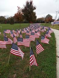 Flag Displays Galloway Flag Display Remembers Veterans Lost To