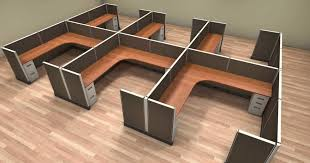 Cubicle Office Desks New System 2 Cubicles For Sale