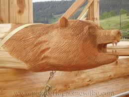 creative wood sculptures custom wood carvings and sculptures pioneer log homes of bc