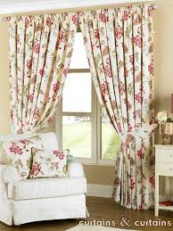 Pink Flower Curtains 6 Kinds Of Vintage Floral Curtains