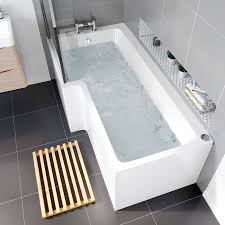l shape trojan 14 jets whirlpool shower bath jacuzzi spa massage l shape whirlpool bath 1700 x 700mm