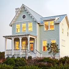 Allison Ramsey Architects Lowcountry  Coastal Style Home Design - Low country home designs