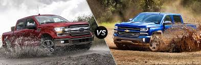 2018 ford f 150 vs 2018 chevy silverado 1500