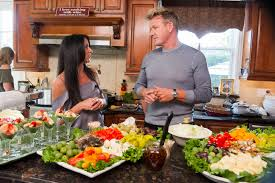 why gordon ramsay built pop that only open one hour per ramsay visiting the home sexy paesan family pre taped bit fox jeff neira