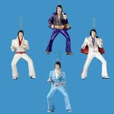 kurt adler set of 4 elvis jumpsuit ornaments home