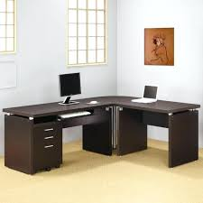 Pc Desk Corner Corner Curved Desk Bethebridge Co