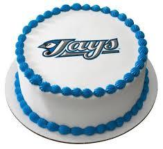 Sheet Cake Decoration Mlb Toronto Blue Jays Logo Edible Icing Sheet Cake Decor Topper