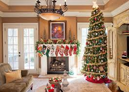decorated family rooms christmas decorating 1 traditional family room nashville