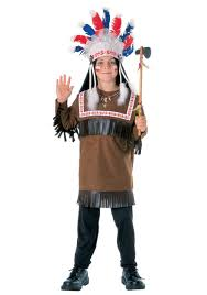child native american costumes