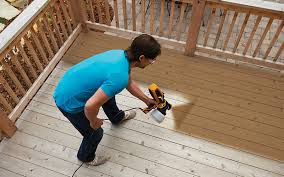 5 Expert Tips For Staining A Deck Consumer Reports by Paint Sprayers Heat Guns Power Rollers Wagner Spraytech