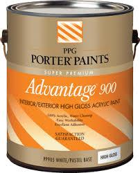 advantage 900 interior exterior acrylic enamel paint from ppg