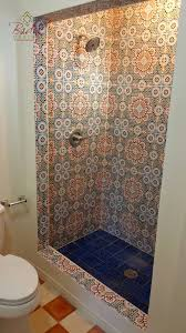 moroccan tile shower beautiful bathroom on designing home moroccan