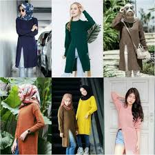 slit sweater dress slit sweater tunik rajut muslimah elevenia