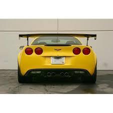 corvette wing apr gtc 500 2005 13 chevrolet corvette c6 carbon fiber adjustable