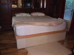 Diy King Platform Bed With Drawers by 109 Best Platform Bed Plans Images On Pinterest Bed Plans
