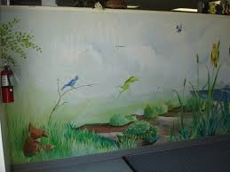 painted wall murals home interior hand painted wall murals newsonair
