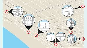 Venice Beach Map The L A Hood Where Snapchat Millionaires Will Snap Up Houses Post