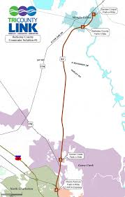 Map Of South Carolina Counties Tricounty Link Rural Bus Service With Flagstop System Serving