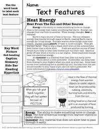3rd grade physical science thermal energy and heat 3 week unit by