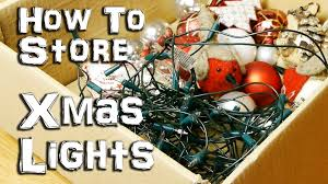 how to store your lights hack