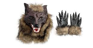 Werewolf Mask Werewolf Mask And Gloves Drunkmall
