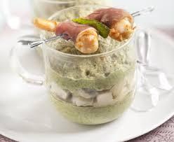 cuisiner coeur d artichaut crème de brocolis en verrine et coeur d artichaut recette de