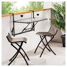 Tesco Bistro Chairs Buy Roma 3 Balcony Bistro Set Mocha Black From Our All