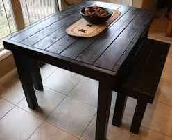 primitive dining room decor with 6 feet black pub style kitchen